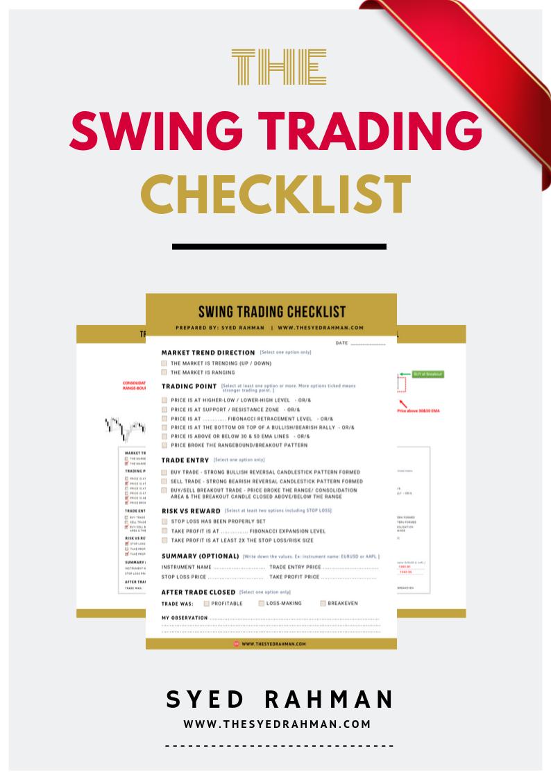 Swing Trading Checklist