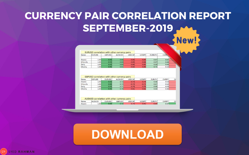 Currency Pair Correlation report Download