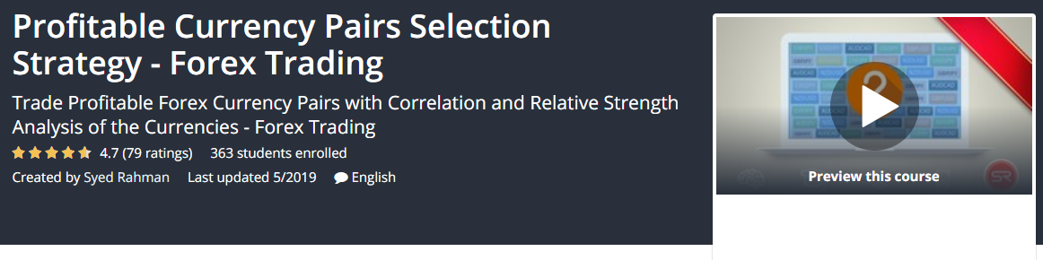Best Currency Pair Selection Strategy